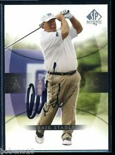 Craig Stadler signed autographed Auto 2001 SP Authentic PGA Golf card #13