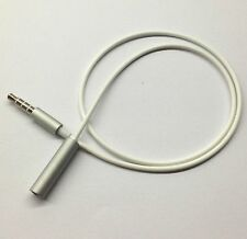 50cm 3.5mm 4 Pole Male to Female headphone earphone Extension Cord Audio Adapter