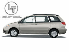 Toyota Sienna Stainless Steel Chrome Pillar Posts by Luxury Trims 2004-2010 6pcs