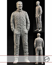 1/20 NIGEL MANSELL STANDING FIGURE inc DECALS for FUJIMI FERRARI WILLIAMS HIRO