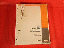 Case 821C Loader Parts Catalog Manual - In Factory Plastic Wrapping