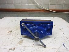 VINTAGE RECORD NO 50 WOODWORKING BENCH VICE REPAINTED