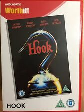 Robin Williams HOOK ~ Spielberg Peter Pan Film Movie ~ Rare Woolworths UK DVD