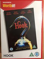 Robin Williams HOOK ~ Spielberg Peter Pan Film Movie ~ Rare Woolworths UK DVD