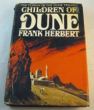 "FRANK HERBERT ""Children Of Dune"" Hardcover w/ dust jacket; Book Club Ed; 1976"