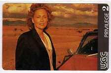 Rare cinécarte UGC série acteurs du cinéma Faye Dunaway Privilège 2