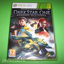 DARK STAR ONE BROKEN ALLIANCE NUEVO PRECINTADO PAL ESPAÑA XBOX 360
