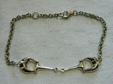 Clogau Argento Sterling & Oro Gallese Galles Polo Bracciale RRP £ 169.00