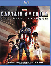 BD Captain America: The First Avenger (Blu-ray DISC ONLY 2015) No Artwork