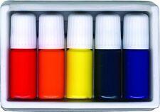 Marbling Japan Suminagashi Dye Ink Set Buku-undo 5 Colors inks Paint sets