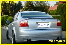AUDI A4 B6 REAR/BOOT TRUNK SPOILER S-LINE LOOK (2001-2005)