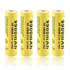 4pcs Li-ion Rechargeable Battery For LED Flashlight Torch UE