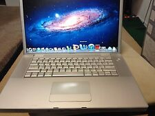 APPLE MACBOOK PRO INTEL DUALCORE WEBCAM MAC OSX LION X 7 MICROSOFT OFFICE LAPTOP