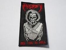 INEPSY SEE YOU IN HELL EMBROIDERED PATCH