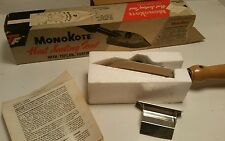Vintage MonoKote Heat Sealing Tool  Teflon Coated in Box w Stand