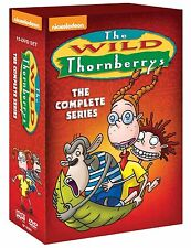 The Wild Thornberrys Complete Series DVD Set Collection Nickelodeon TV Show Box