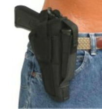 "Intimidator Belt & Clip Side Gun Holster fits FNH P-9,P-40,FNP-45 with 4"" Barrel"