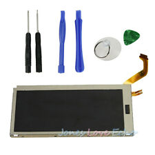 Upper Top LCD Display Screen Replacement Part +Free Tools For Nintendo 3DS New