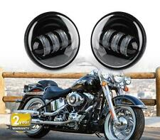 Pair 4.5inch LED PASSING FOG LIGHTS Daymaker Projector Auxiliary Lamp For HARLEY