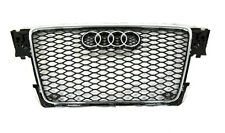 Audi A4 S4 B8 RS4 Style front grille CHROME TRIM style 09 10 11 12