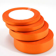 25 Yards Of Satin Ribbon 6 10 15 25MM In Mut Colours Sold In Roll Craft Wedding