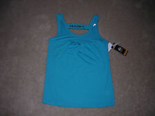Head Dri-Motion Top Cycling Fitness Yoga Women's Size Small Blue/Green NWT/NEW