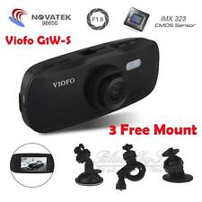 Viofo G1W-S HD 1080P Capacitor Novatek 96650 IMX323 Night Dash Cam Crash Camera