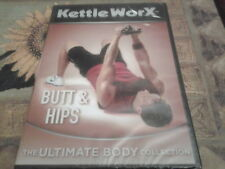 dvd kettle worx butt and hips the ultimate body collection new sealed exercise