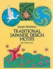 Traditional Japanese Design Motifs (Dover Pictorial Archive)-ExLibrary