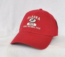 *DENALI NATIONAL PARK ALASKA* Bull Moose Structured Ball cap hat *OURAY*