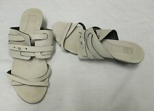 Marithe + Francois Girbaud - Grey Leather Sandals - 38  /  5