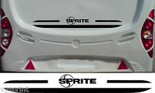 SPRITE CARAVAN/MOTORHOME 2 PIECE KIT DECALS STICKER CHOICE OF COLOUR & SIZE #2
