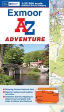 Exmoor Adventure Atlas by A-Z Maps (Paperback, OS Explorer Map)