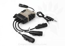 Z-TAC Silynx C4 PTT Lite Version Z119 Airsoft Communication Kenwood Non-Kenwood