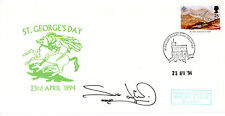 23 APRIL 1994 St GEORGES DAY HANDSIGNED BY ACTRESS SUE JENKINS COMM COVER
