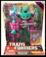 Hasbro Transformers Commemorative Reissue G1 Seacons Decepticon Piranacon AU