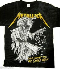 METALLICA cd lgo TIP THE SCALES Official SHIRT LRG New and justice for all