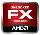 5x NEW AMD UNLOCKED FX ORIGINAL CASE EMBLEM STICKER LOGO BADGE LABEL 911-000005