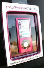 1 FANSHIONATION SPORTS ARMBAND FOR IPOD NANO F-N5A120 PINK CASE FN5A120