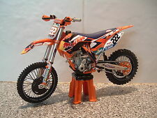 2014 MOTOCROSS BIKE MODEL 1:12 ANTONIO CAIROLI RED BULL KTM 222 SXF 350 VERY LTD