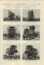 1925 Asphalt Mixing Plant Davey Paxman Photographs Friction