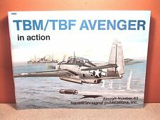 SQUADRON SIGNAL TBM/TBF AVENGER IN ACTION # 82