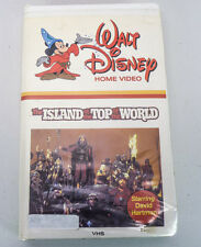 The Island At The Top of the World - Walt Disney White Clamshell 1974 Movie VHS