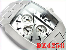 DIESEL MEN'S ICE VERSION SILVER TOP COLLECTION WATCH DZ4258