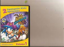 SONIC UNDERGROUND VOLUME 1 DVD 2 EPISODES KIDS SONIC HEDGEHOG CARTOON