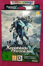 XENOBLADE CHRONICLES X LIMITED EDITION NINTENDO WII U WII U NEW PAL