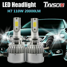 110W H7 CREE LED Ampoule Phare Bulbes Headlight Kit 6000K Voiture Feux Car Lampe