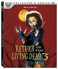 RETURN OF THE LIVING DEAD 3 (Vestron Collector's)  -  Blu Ray - REGION A
