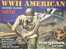 Wargames Factory W2002: 28mm WWII American Infantry Platoon Late War (30 Figs)
