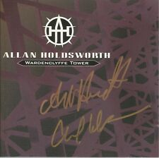 Wardenclyffe Tower * by Allan Holdsworth (2 CD, 1992, Restless) Original Signed